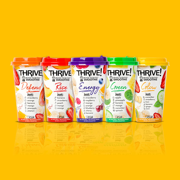 THRIVE! READY TO BLEND SMOOTHIES